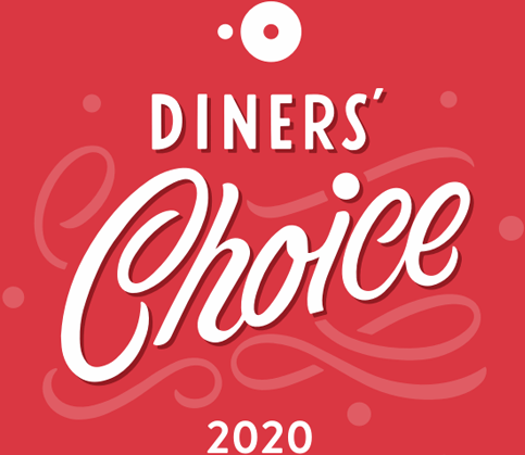 Diners' Choice Award 2018