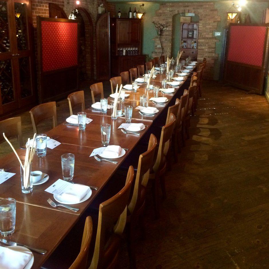 Bonterra Trattoria – Private Dining